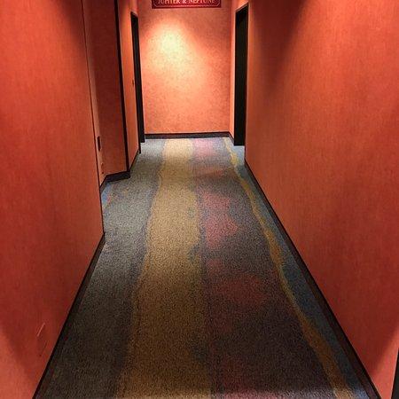 Au Parc Hotel Fribourg: Un couloir