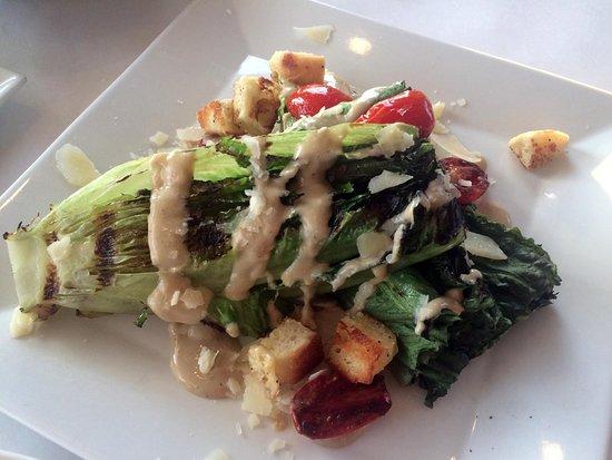 Sebasco Estates, ME: Caesar salad done differently
