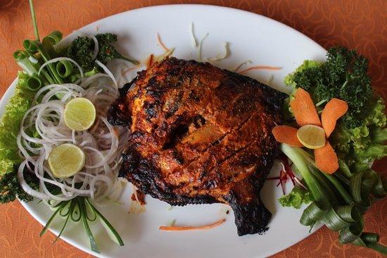 Swagath: grilled fish