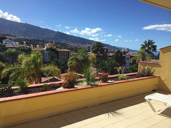 Tigaiga Suites: Terraza hacia el Teide