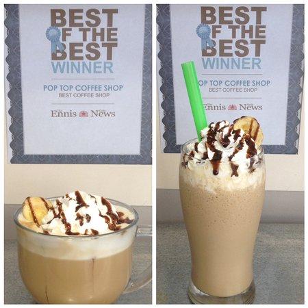 "Winner of ""Best Coffee Shop"" in Ennis"