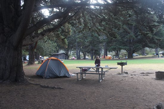 Plaskett Creek Campground: campsite 21