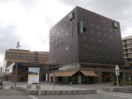 chambre twin picture of ibis styles caen centre gare caen tripadvisor. Black Bedroom Furniture Sets. Home Design Ideas