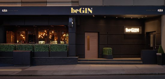 Begin Glasgow West End Gin Bar On Byres Road With Over 60