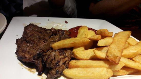 Mi Viejo: Rib Eye Steak and Steak Fries
