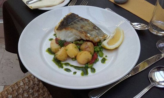 Tullycross, Irlanda: Pan Fried Cod