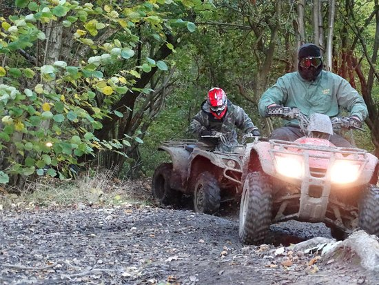 Frodsham, UK: Quad Biking
