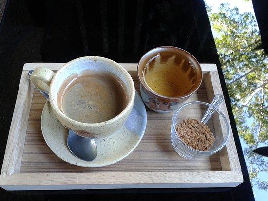 Nan Province, Tayland: ร้านกาแฟ