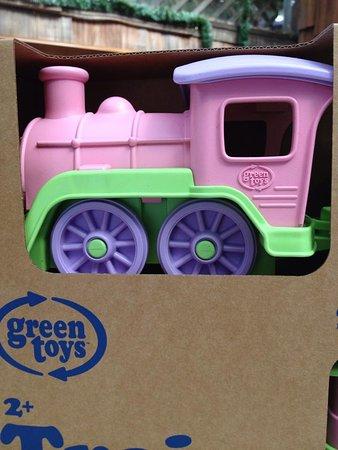 Willits, CA: GREEN TOYS - TRAIN