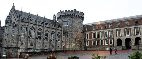 Dublin Castle: The chapel and the remaining Norman tour