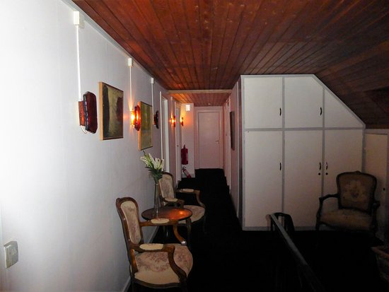 Bogoe, Danemark : Gang areal fra værelse 8 mod 1