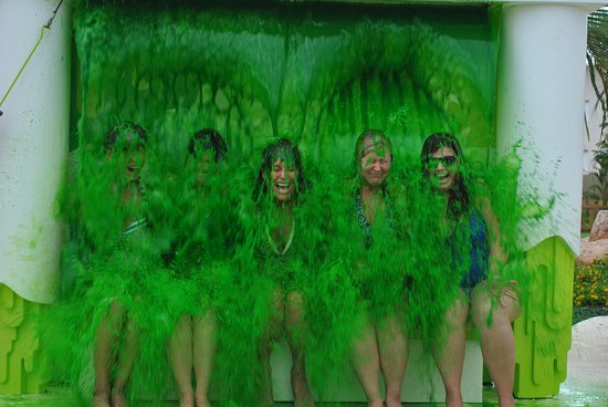 Image result for nickelodeon punta cana slimed