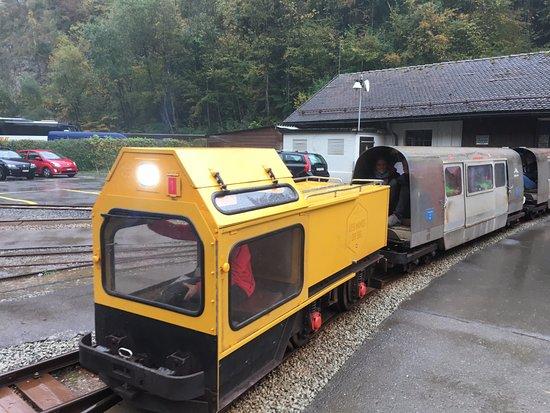 Bex, Switzerland: Salt mine train