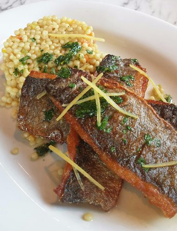 Cudahy, WI: Branzino. Offering seasonal fare, farm to table fresh.