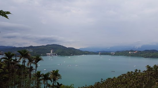 The Lalu Sun Moon Lake: View from the room