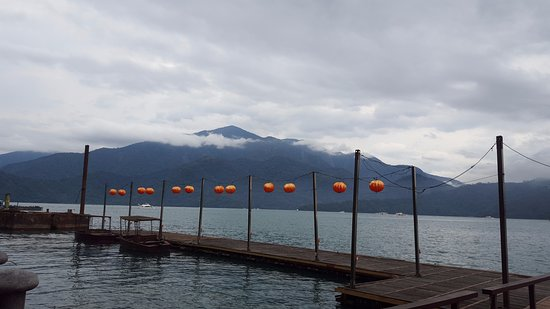 The Lalu Sun Moon Lake: Private pier during day time