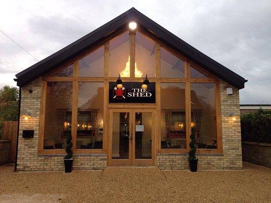 The shed cambridge restaurantanmeldelser tripadvisor for Garden shed tripadvisor