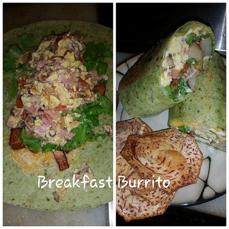 Palmer, Porto Rico: Breakfast Burrito