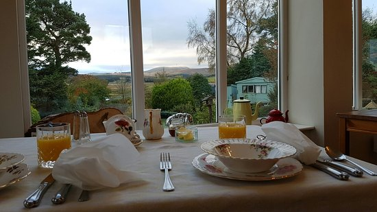 Troutbeck, UK: Breakfast with a view