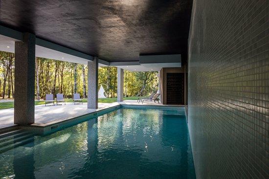 Oliveira do Hospital, Portugal: Inside Pool