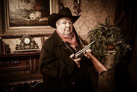 Wild Gals Old Time Photo: My cowboy!