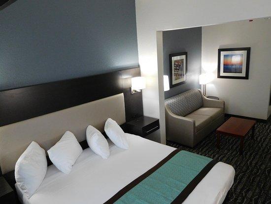 Waldo, فلوريدا: King suites
