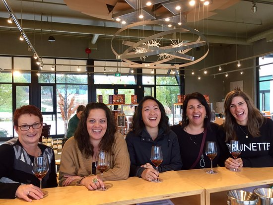 Kamloops, Canadá: Tasting at Monte Creek Ranch & Winery