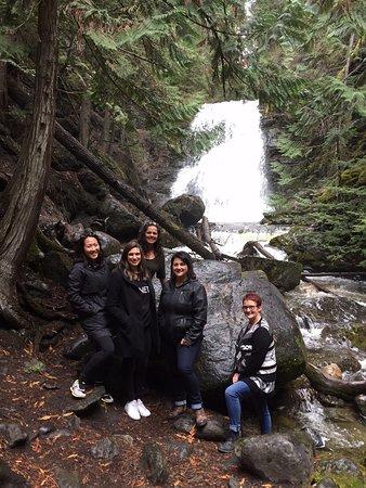 Kamloops, Canada: Waterfalls near Sun Peaks Resort