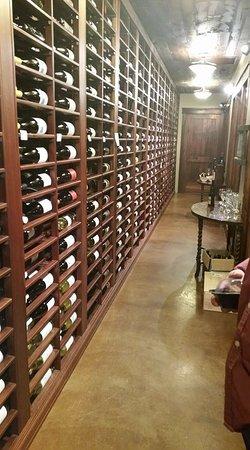 Nisswa, MN: Wine cellar at Cru