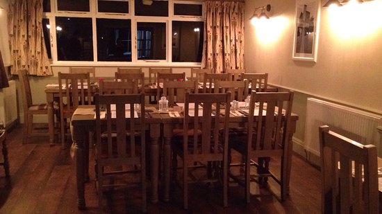 The Bell: Newly refurbished restaurant November 2016