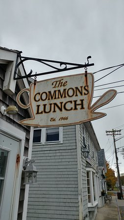 The Commons Lunch: vintage signage