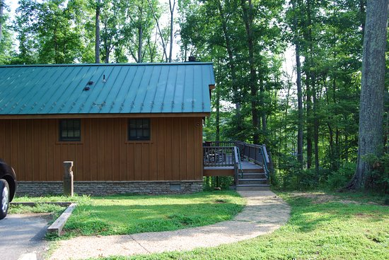 Delicieux Bear Creek Lake State Park: Nice Cabins With Fireplaces