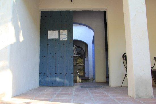 Villa Chante Coucou: Eingang