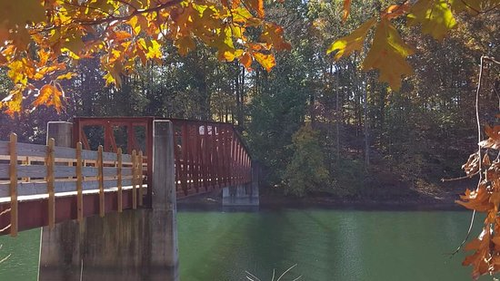 Winchester, TN: Secluded Bridge.