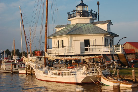 Beautiful St  Michaels, MD Harbor from the Chesapeake Bay