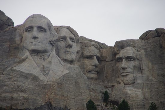 "Mount Rushmore National Memorial: Much smaller than expected after seeing ""North by NorthWest"""