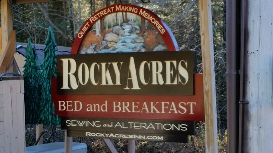 Rocky Acres Inn B&B: 2016