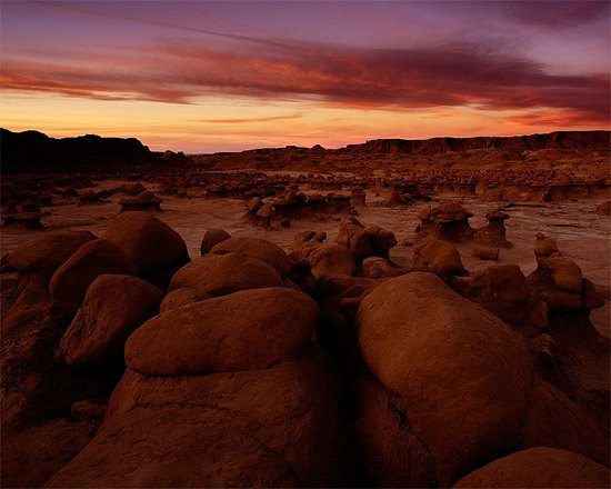 Green River, UT: Goblin Valley Sunrise