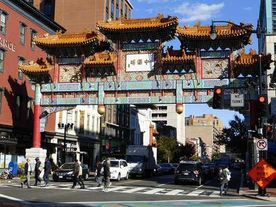 The Gateway To Chinatown In Washington D C Picture Of