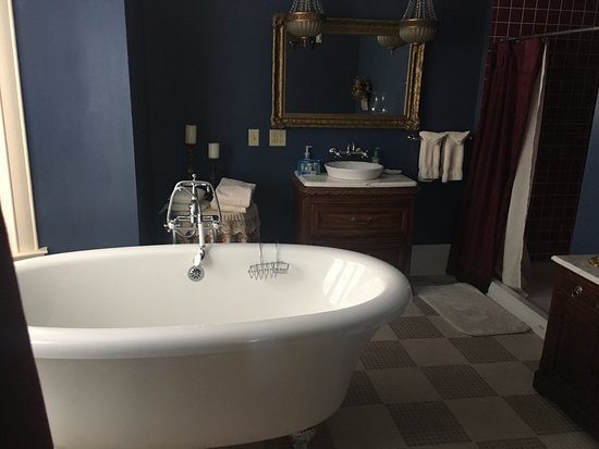 Cambridge, WI: Townsend Soaking Tub and gigantic bathroom