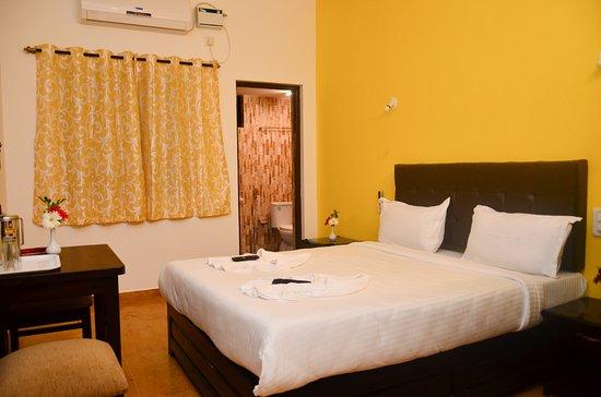 Anjuna, Indien: classi bed room