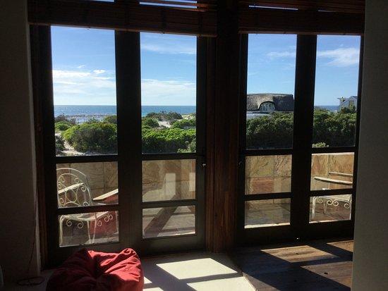 Kommetjie, Sydafrika: View from bedroom