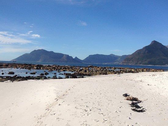 Kommetjie, Sydafrika: Beach just steps away