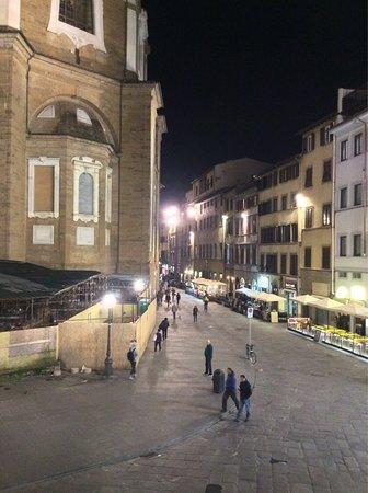 Corte dei Medici: Вид из окна