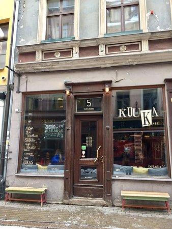 Región de Riga, Letonia: Kuuka Kafe