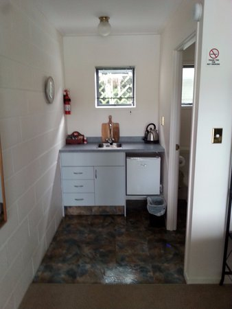 Мангонуи, Новая Зеландия: Kitchenette