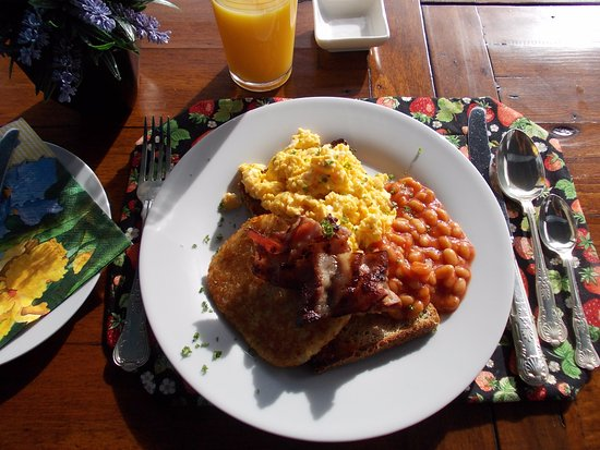 Mangonui, Nueva Zelanda: Arguably, the best scrambled eggs in town!