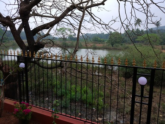 Anjuna, India: View from classic superior room