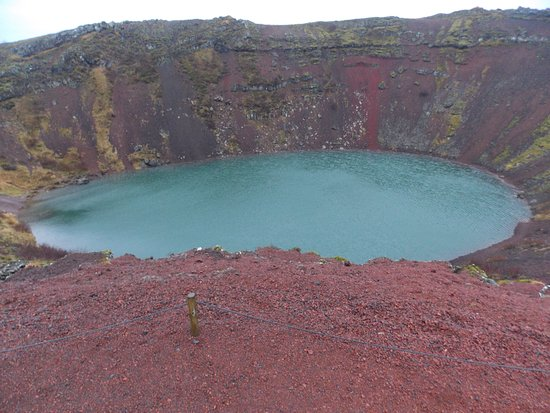 BusTravel Iceland: Kerið volcanic crater lake