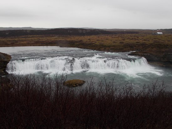 BusTravel Iceland: Faxi waterfall